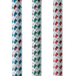 New England Ropes Endura Braid (White with Flecks) 3/8""