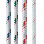 "New England Ropes Sta-Set (White and Flecks) 3/8"""