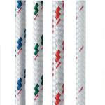 "New England Ropes Sta-Set (White and Flecks) 7/16"""