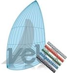One Design Viper 640 Continuous Spinnaker with Dyneema Strop