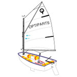Optiparts Sail, Optiparts Club, no window or class button