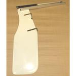 Optiparts Rudder, Fiberglass, w/ fittings & EX1130 tiller+extension
