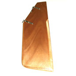 Optiparts Rudder, Wood, w/ fittings, no tiller