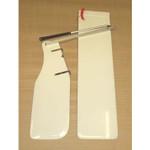 Optiparts Blade Set, Fiberglass, w/ fittings & EX1130 tiller+extension
