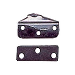 Optiparts Gudgeon set w/ backing plates