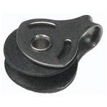 Optiparts Block, 19mm plain bearing, halyard block for Quick Silver mast