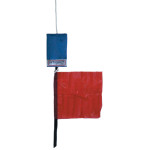 Optiparts Protest flag in pouch with lanyard