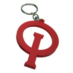 Optiparts Opti key ring red