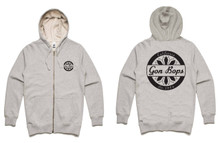 Gon Bops 'California' Premium Zip Up Hoodie
