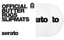 "7"" Serato 'Butter Rug' Slipmats WHITE (pair)"