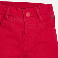 Mayoral Baby Boys Lined Trousers, Cherry