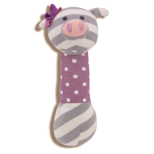 Apple Park - Organic Cotton Penny the Pig Squeaky Toy
