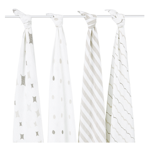aden+anais Classic Cotton Muslin Multi Purpose Swaddles, Shine On