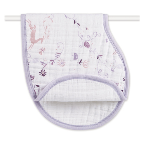 aden+anais Organic Cotton Muslin Burpy Bibs, Once Upon a Time
