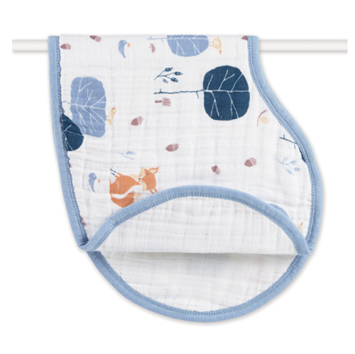 aden+anais Organic Cotton Muslin Burpy Bibs, Into the Woods