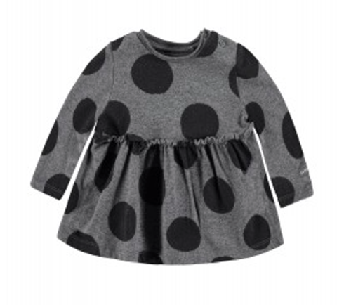 Bellybutton Organic Cotton Polka Dot Swing Dress