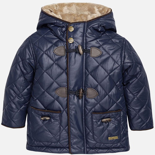 Mayoral Baby Boys Padded Coat, Navy