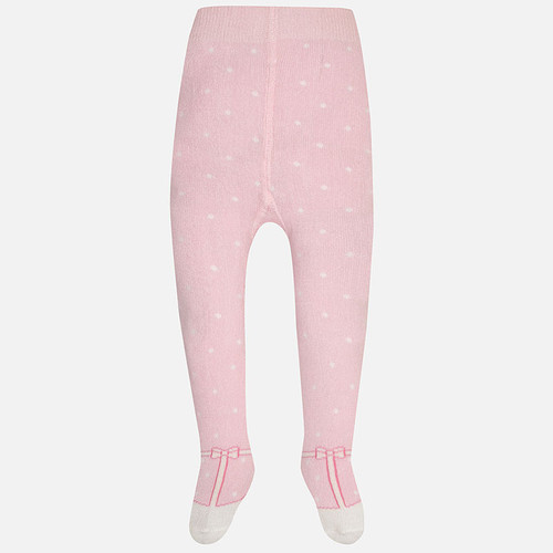 Mayoral Baby Girls Polka Dots Tights, Rose