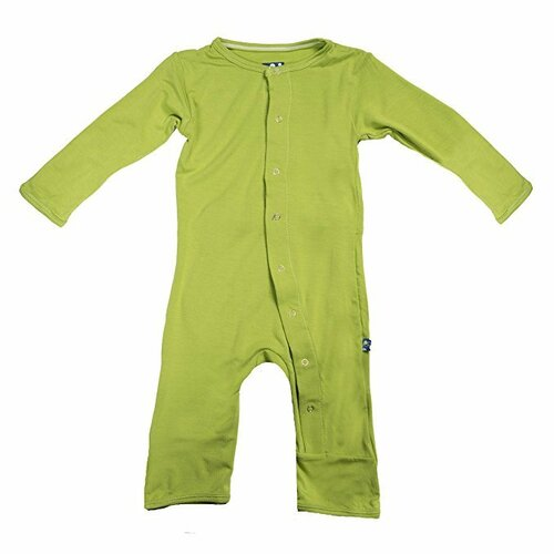 Kickee Pants Basic Coverall, Meadow