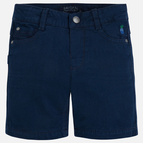 Mayoral Boy twill shorts, Blue