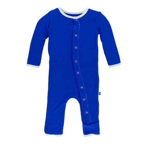 Kickee Pants Solid Coverall, Kite with Pond