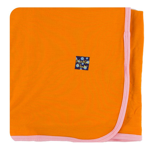 Kickee Pants Swaddling Blanket, Sunset with Lotus