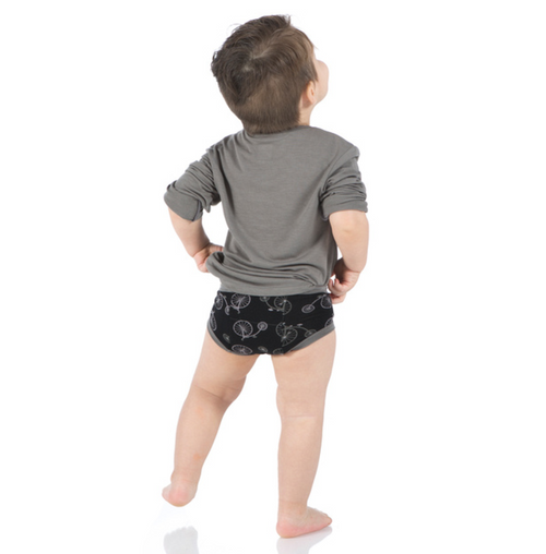 Kickee Pants Training Pants Set of 2 - French Bulldog & Boy Midnight Bikes