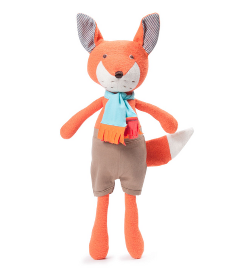 Hazel Village - Reginald Fox in Shorts and Scarf