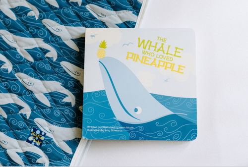 Kickee Pants Book - The Whale Who Loved Pineapple