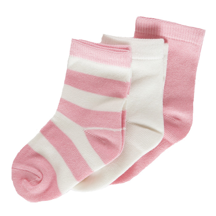 KP Sock Set Lotus, Baby Stripe, Natural