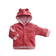 Babysoy - Bamboo/Cotton Blend Fleece Hoodie, Blossom