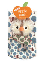 Apple Park - Organic Patterned Rattle, Owl