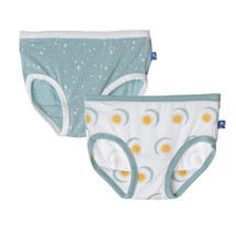 KP Girls Underwear Natural Sun & Moon and Jade Shooting Stars
