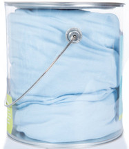 ickee Pants Stretch Bamboo Fitted Crib Sheet - Pond