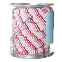 Kickee Pants Print Fitted Crib Sheet, Girl Forest Stripe