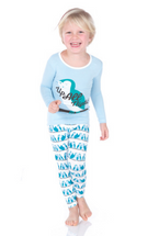 Kickee Pants Print Long Sleeve Pajama Set, Snowy Owls