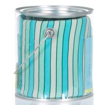 Kickee Pants Fitted Crib Sheet, Boy Tropical Stripe