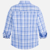 Mayoral Boy long sleeve check shirt, Paradise