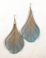 Antique Silver with Periwinkle and Aqua