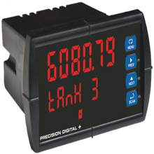 PD6080 ProVu Decimal Display Modbus Scanner with Dual Analog Inputs