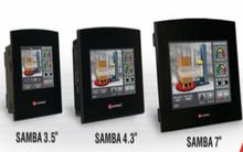 ** Samba R20 Series ** - 10 Digital Inputs, 2 Digital/Analog, 8 Relay Outputs, 1 USB programming port, 1 optional port for serial or Ethernet communication and 1 optional port for CANbus communication