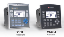 ** V130-33-TR34 ** - 24VDC, 22 Digital Inputs, 2 Analog and 3 HSC/Shaft-encoder Inputs, 8 Relay Outputs, 4 high-speed npn Transistor Outputs, 1 built-in RS232/RS485 Port, CANbus and MODBUS