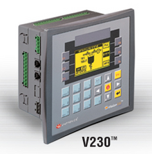 ** V230-13-B20B ** - RS232 port, RS232/RS485 port, Ethernet/additional RS232/RS485 port (optional), MODBUS and CANbus