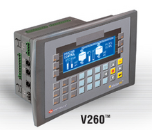 ** V260-16-B20B ** - RS232 port, RS232/RS485 port, Ethernet/additional RS232/RS485 port (optional), MODBUS and CANbus