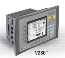 ** V280-18-B20B ** - RS232 port, RS232/RS485 port, Ethernet/additional RS232/RS485 port (optional), MODBUS and CANbus networking