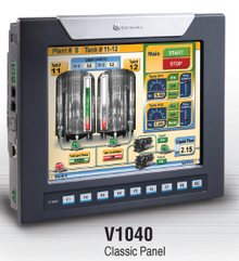 ** V1040-T20B ** - Up to 1000 I/O; Supports Remote I/O Digital, Analog, Temperature, Weight, GPRS Ethernet, Canbus, RS485, MODBUS RTU/IP, CANopen, J1939, SNMP Web Server & Multilanguage Support