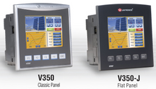 ** V350-35-TRA22 ** - 24VDC, 12 Digital Inputs, 1 HSC/shaft-encoder, 2 Analog/Digital Inputs, 2 Thermocouple/PT100 inputs, 4 Relay Outputs, 4 npn (sink),  2 Analog Outputs, 1 built-in RS232/RS485 Port, CANbus and MODBUS