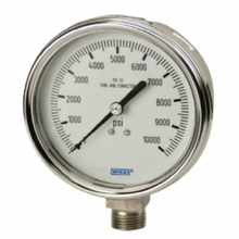 Wika - 2-1/2 or 4 Inch Dial, 1/4 Inch, 0 to 3000 Scale Range Pressure Gauge