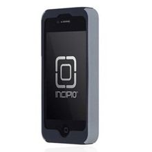 APPLE IPHONE 4 / 4S INCIPIO DUALPRO HARD SHELL CASE WITH SILICONE CORE - DARK GRAY AND LIGHT GRAY