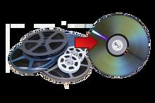 8MM Film Transfer to DVD per Foot